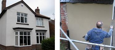 Rendering Sheffield - House Rendering Wall Pointing Render